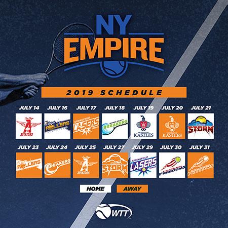 2019_Calendar New York Empire