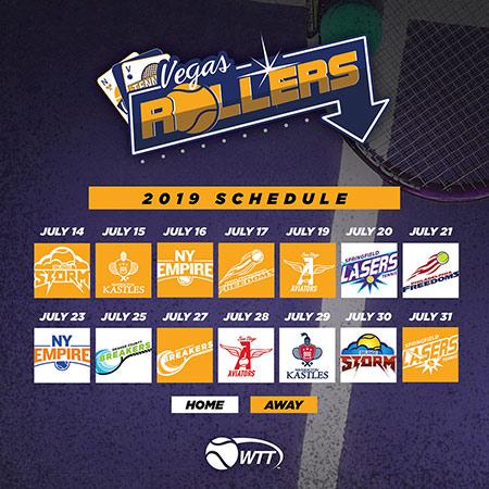 Vegas Rollers 2019 Calendar
