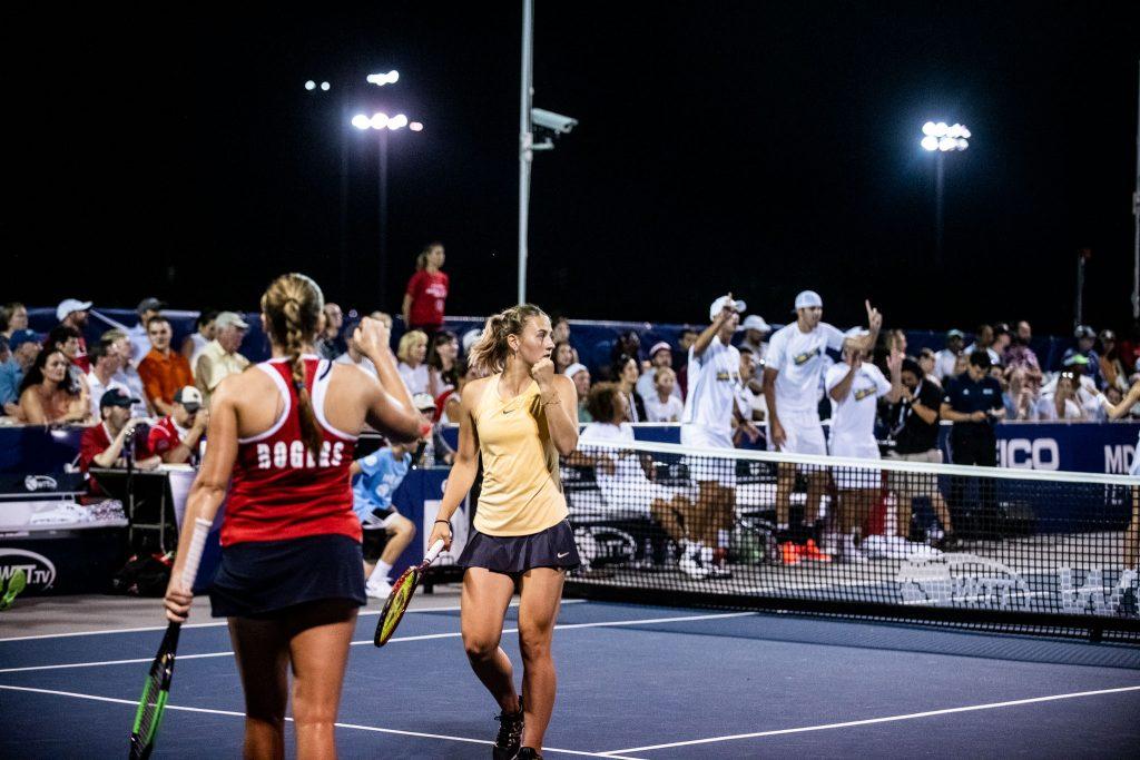 World Team Tennis. Команда Марты Костюк проиграла второй матч на турнире