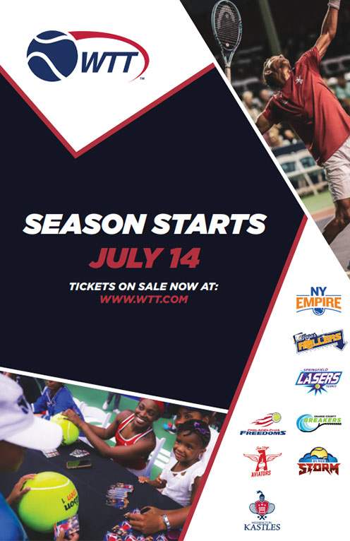 WTT 2019 Begins July 14